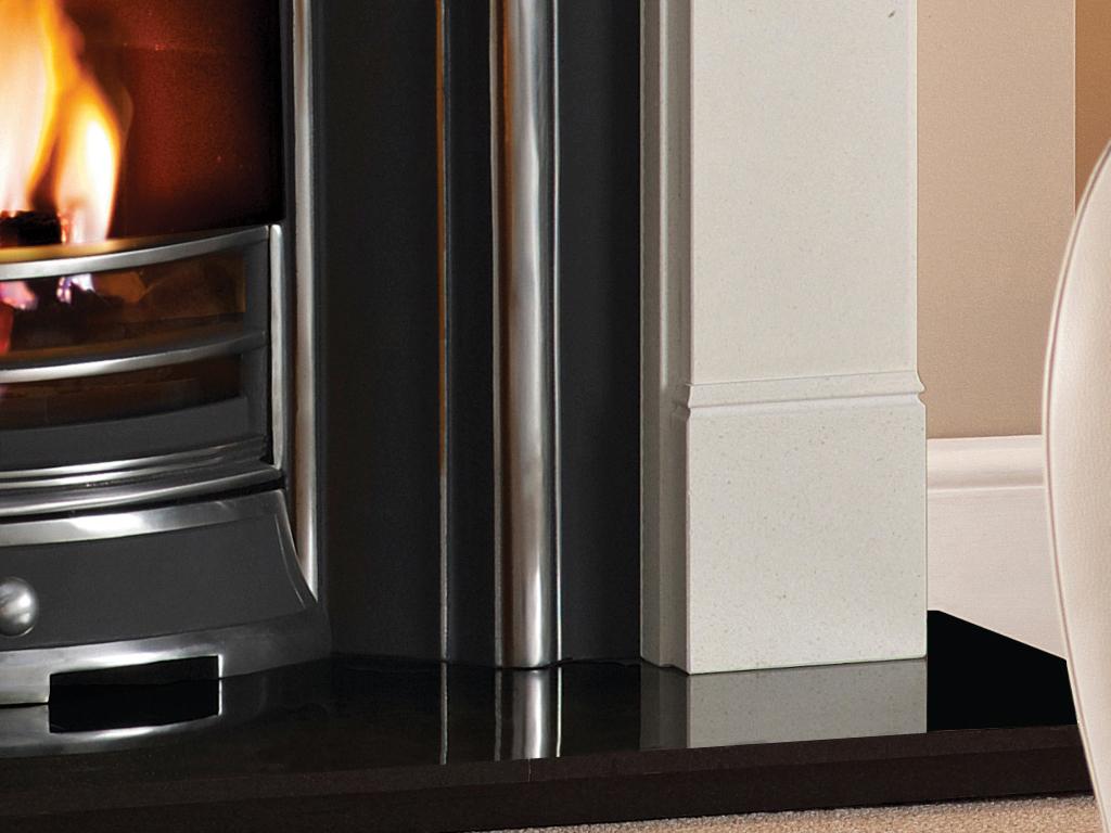 Hersham Stone Fireplace Mantel Luxury Surround From