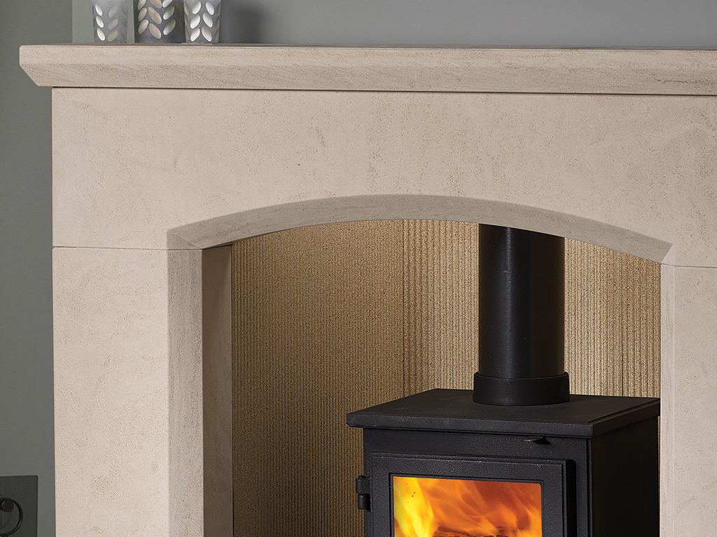 Olvera 48 Mantel Stone Fireplace From Capital