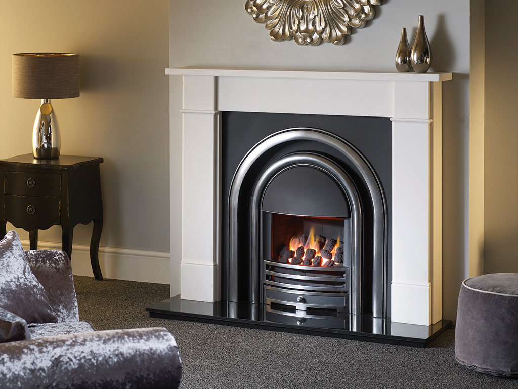 Hersham 54 Mantel Stone Fireplace From Capital