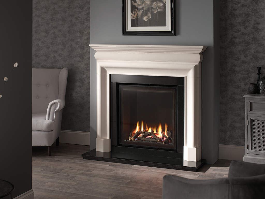 Mulholland 54 Quot Mantel Stone Fireplace From Capital