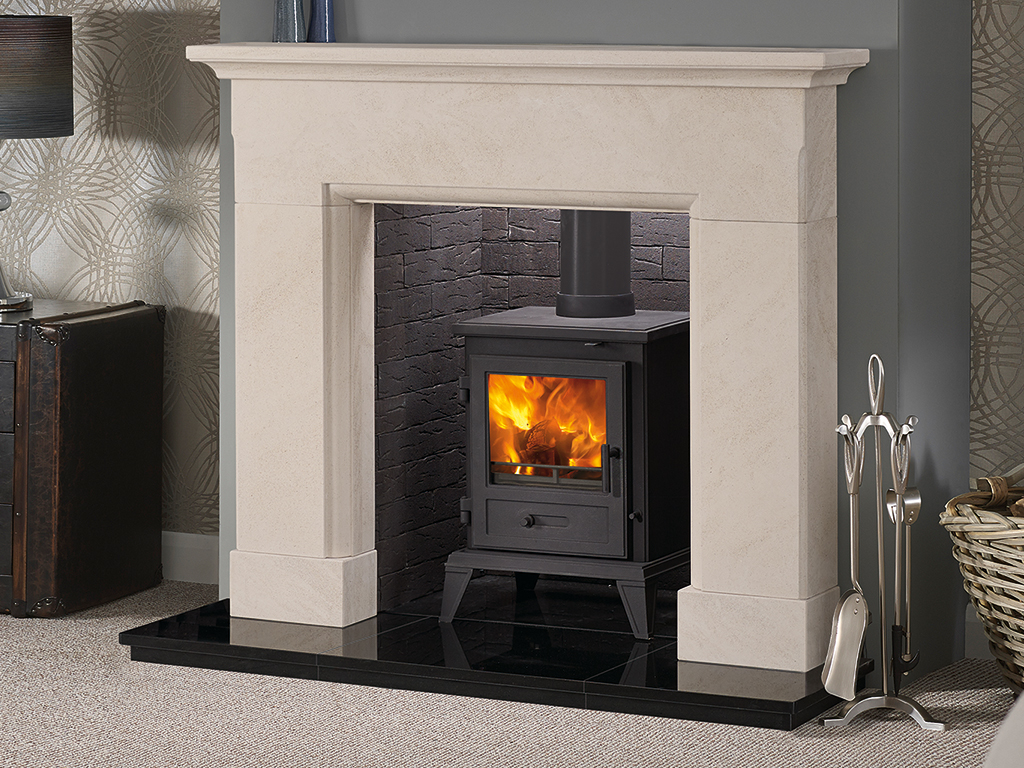 Palencia 48 Mantel Stone Fireplace From Capital