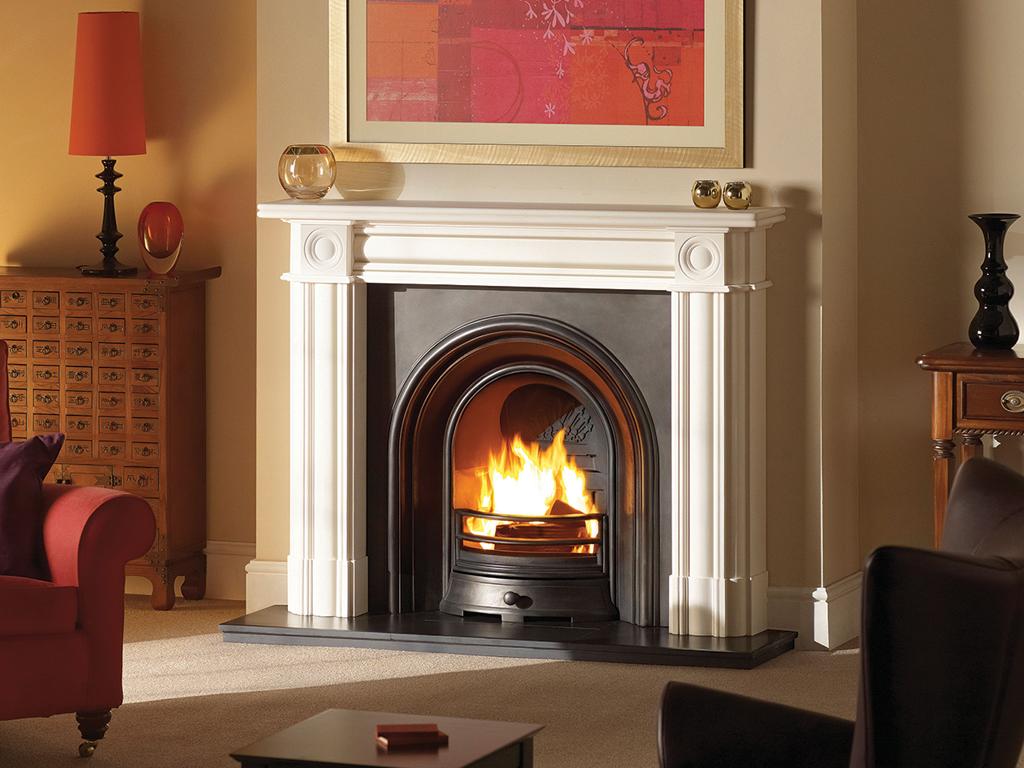 Regent Stone Fireplace Mantel Luxury Surround From