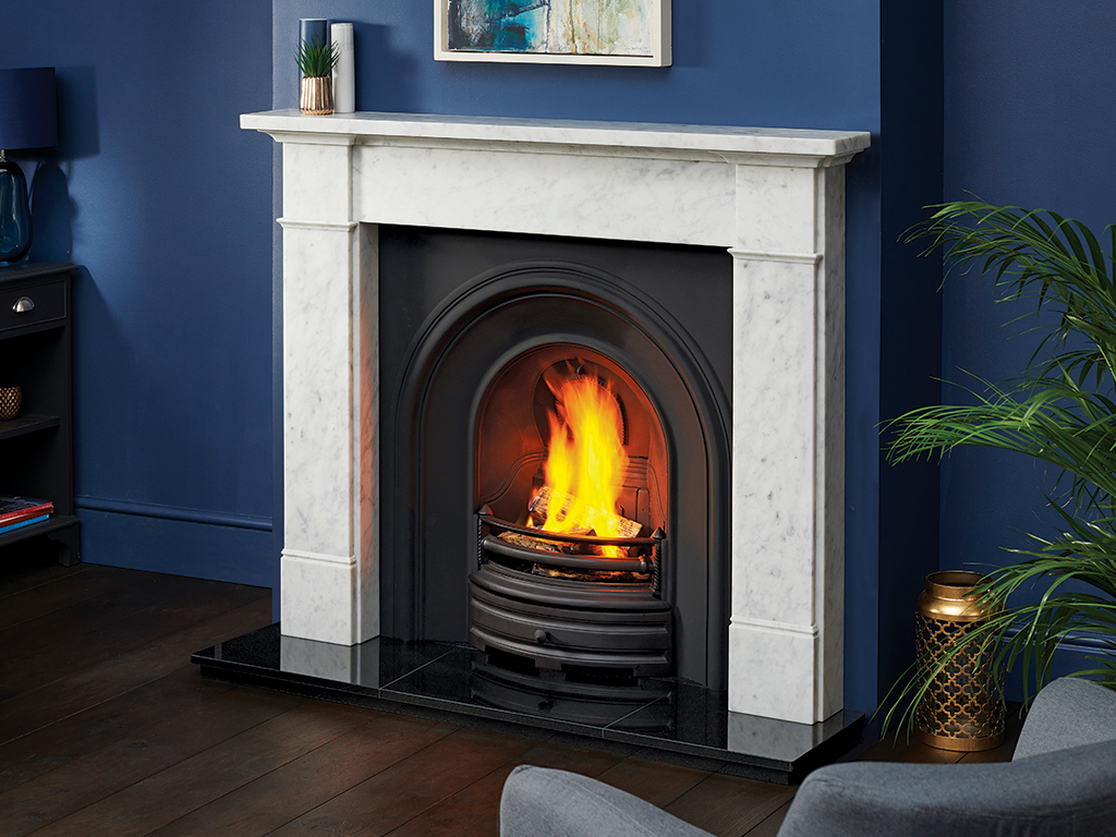 Silsoe Marble Fireplace Mantel Luxury Surround From