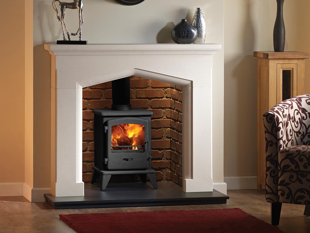 Swinford Stone Fireplace Mantel Luxury Surround From