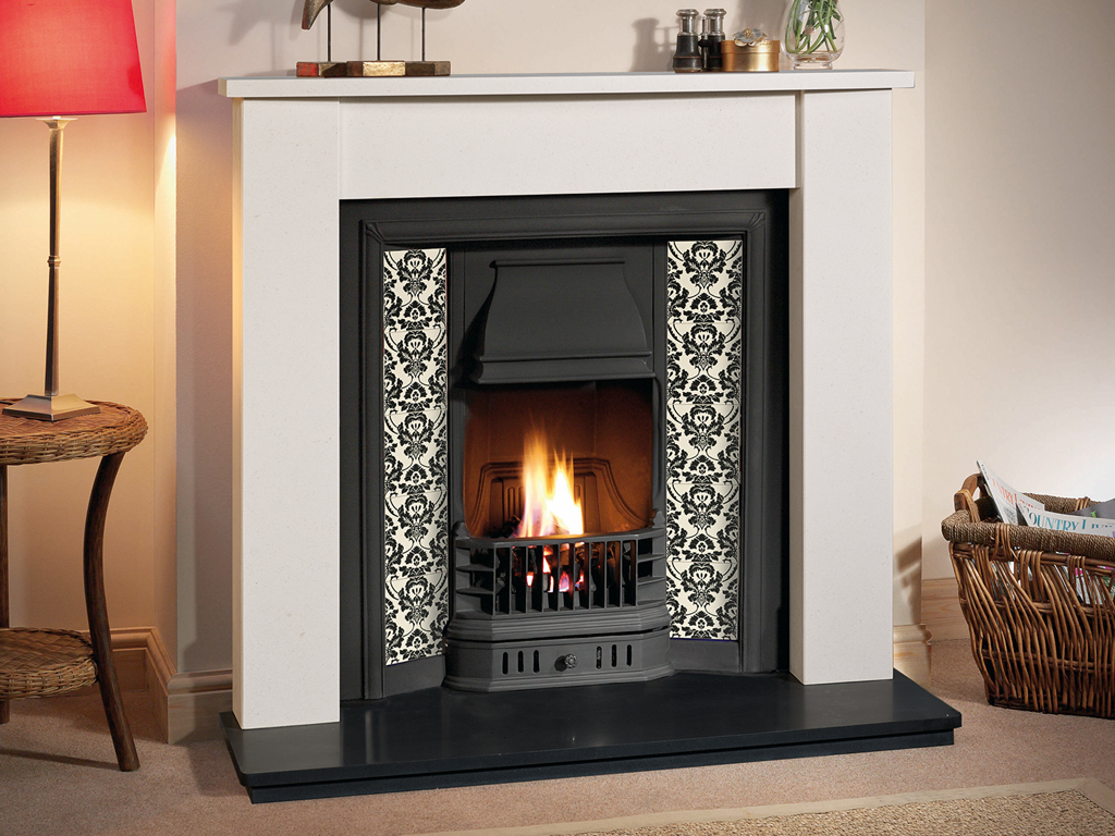Tiled Fireplace Insert Victorian Tiled Fireplaces From