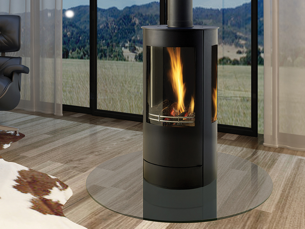 Gas Stoves   Contemporary and Traditional Fireplace By Capital
