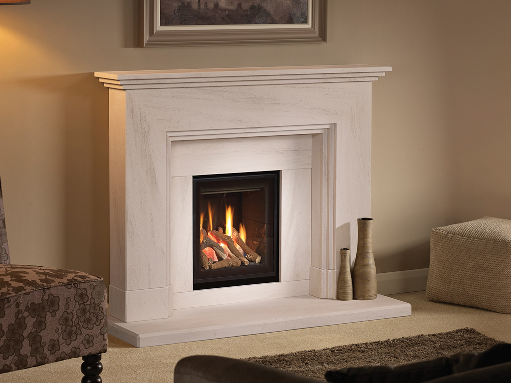 Dl400 design line 400 contemporary gas fireplace from capital