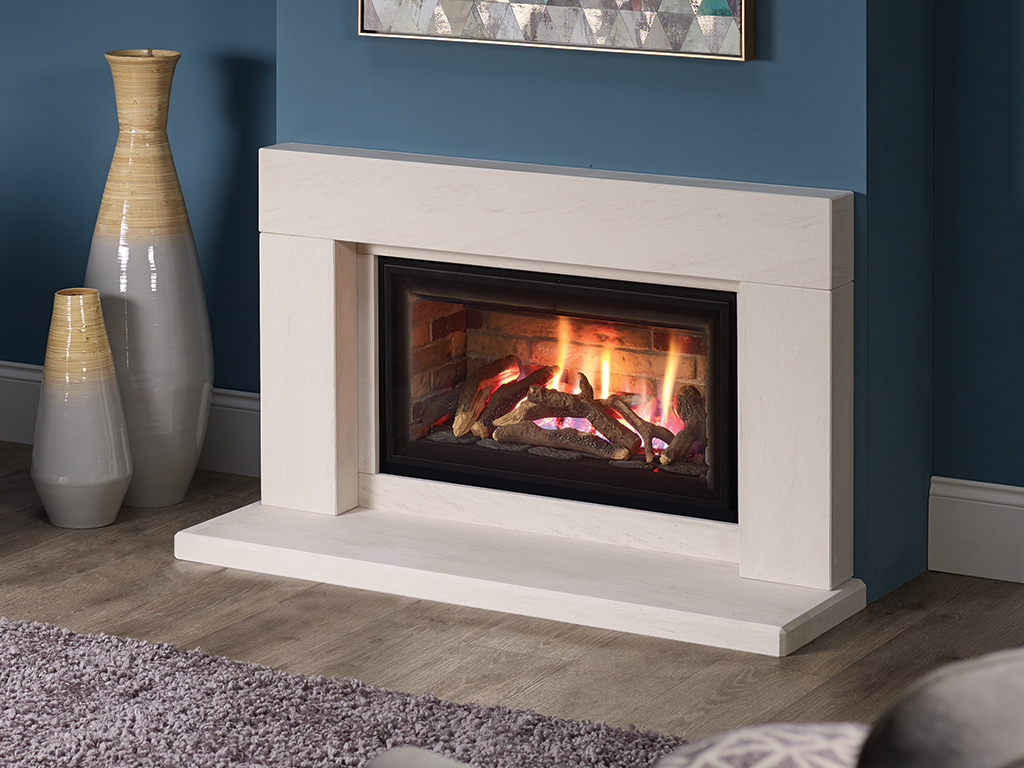 Dl700 Design Line 700 Contemporary Gas Fireplace From