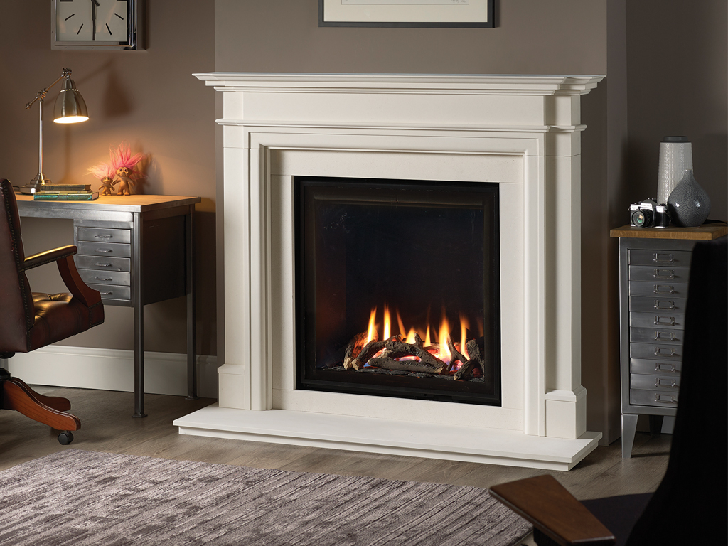 Dl800 Design Line 800 Contemporary Gas Fireplace From