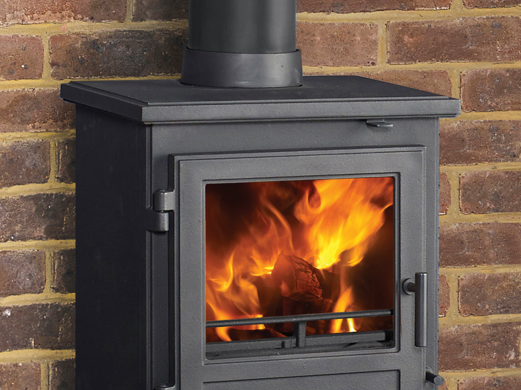 Quadrical 405 Multi Fuel Stove By Capital Fireplaces