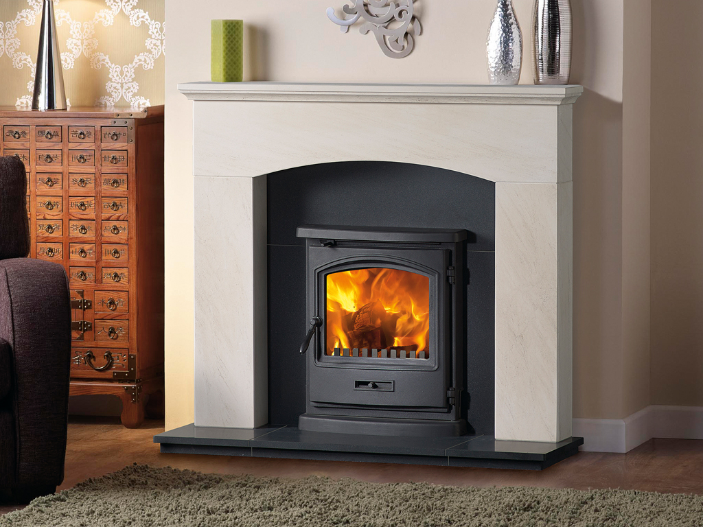 Portuguese Limestone Mantels I Fire Surrounds I Capital Fireplaces