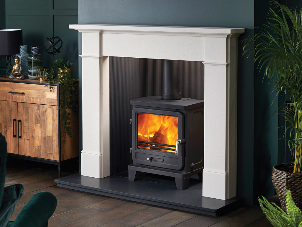 Silsoe Stone Fireplace Mantel Luxury Surround From