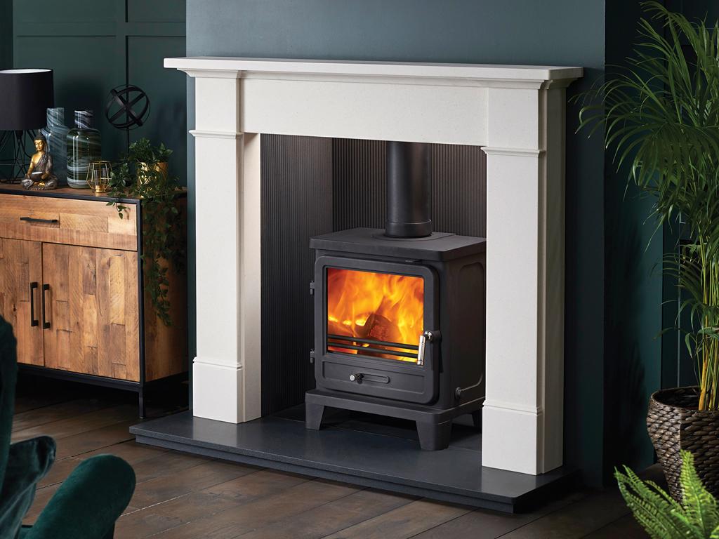 Silsoe Stone Fireplace Mantel Luxury Surround From