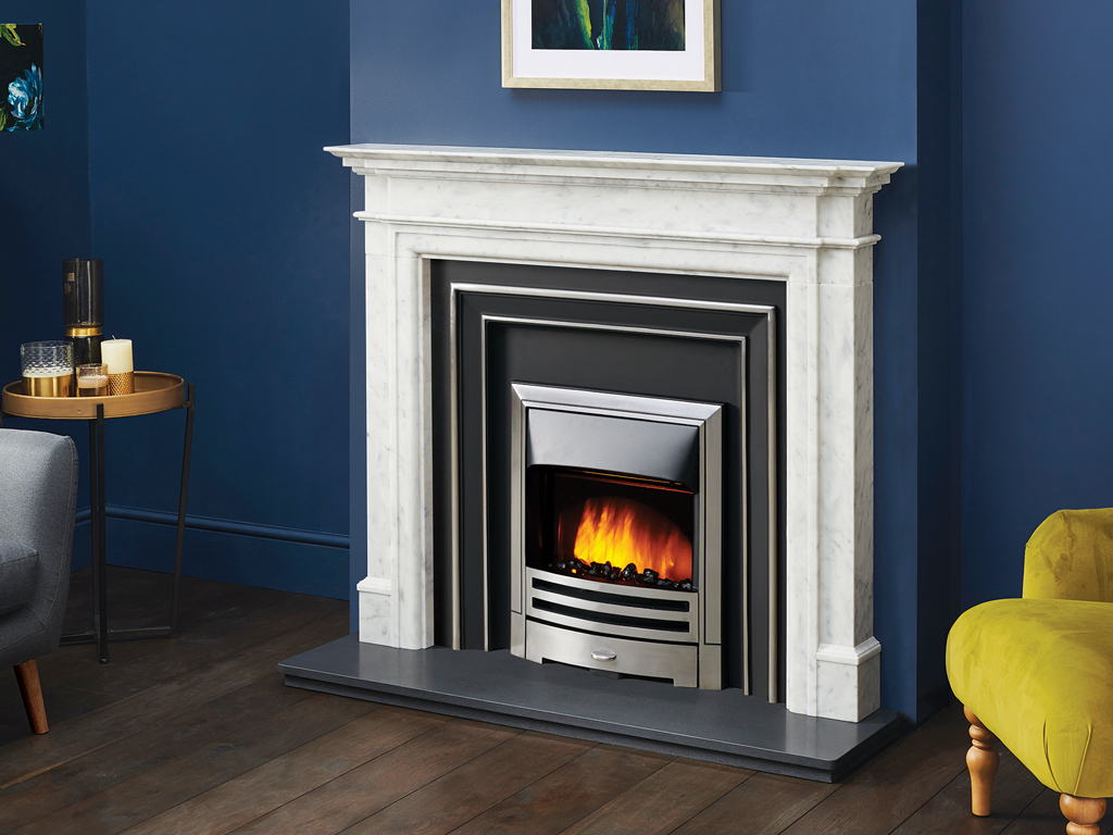 Washington Marble Fireplace Mantel Luxury Surround