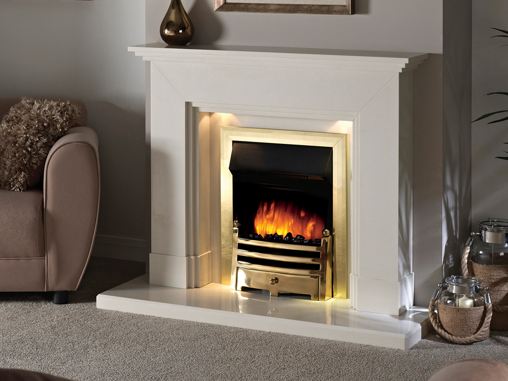 Dalton 44 Quot Barley White Suites From Capital Fireplaces